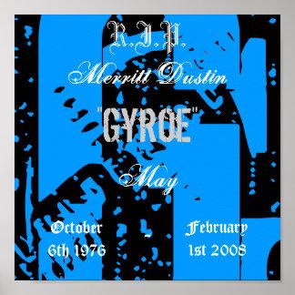 """G, R.I.P., Merritt Dustin, """"Gyroe"""", May, Octobe... Poster"""
