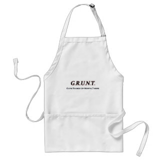 G.R.U.N.T. (Guys Raised Up North, There) Apron