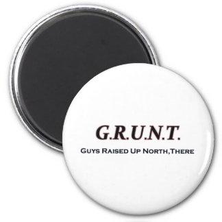G.R.U.N.T. (Individuos educados encima del norte,  Imán Redondo 5 Cm