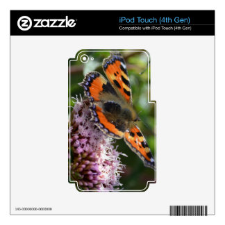 G_red_admiral_001 iPod Touch 4G Decals