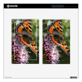 G_red_admiral_001 Kindle Fire Skin