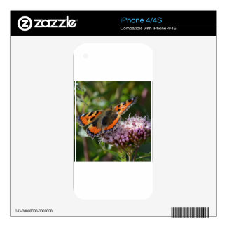 G_red_admiral_001 Skins For iPhone 4S