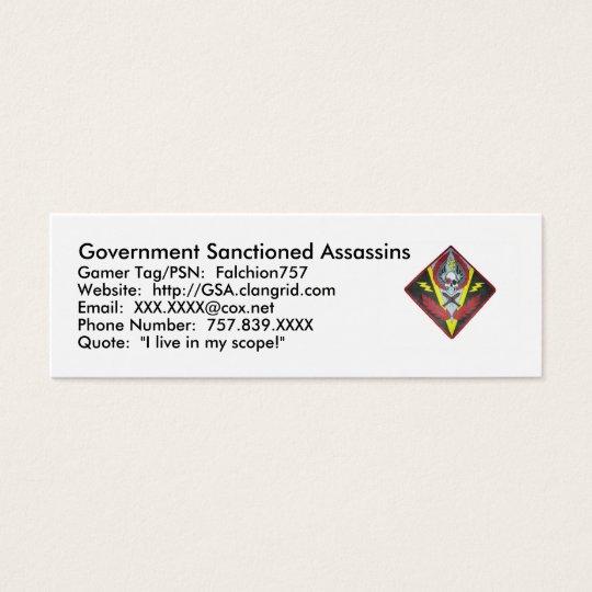G.S.A. profile card