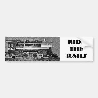 G Scale Model Train Car Bumper Sticker