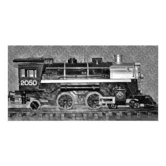G Scale Model Train Photo Card