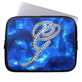 """G Script """"Diamond Bling"""" Laptop Sleeve"""