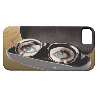 G Sharp sunglasses closeup - Surrealism iPhone 5 Covers