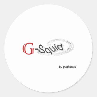 G-Squid Sticker
