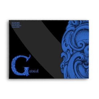G - The Falck Alphabet (Blue) Envelope