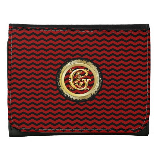 G- ZigZag Girly Chevron Pattern Wallet