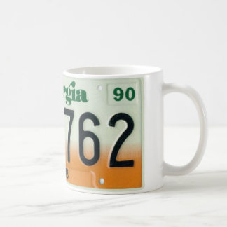 GA90 CLASSIC WHITE COFFEE MUG