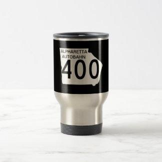 "GA 400 ""Alpharetta Autobahn"" Travel Mug"
