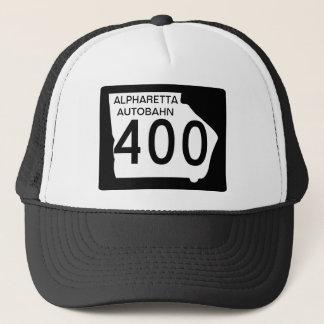 """GA 400 """"Alpharetta Autobahn"""" Trucker Hat"""