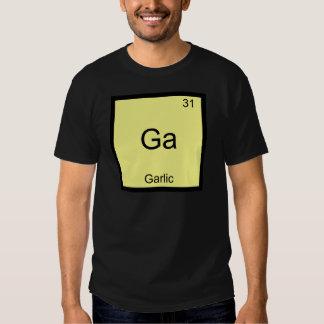 Ga - Garlic Funny Chemistry Element Symbol T-Shirt