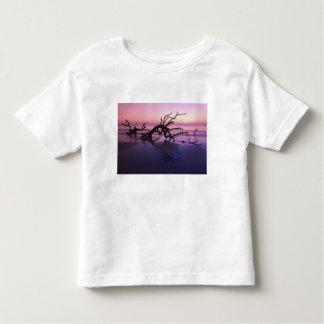 GA Jekyll Island, Tree graveyard on  beach at Toddler T-shirt