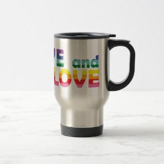 GA Live Let Love Travel Mug