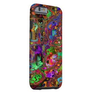 GA-piojo de Paisley del color Funda De iPhone 6 Tough