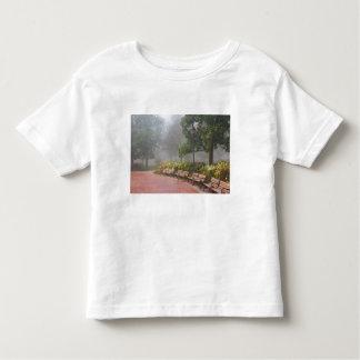 GA Savannah, Azaleas along brick sidewalk and Toddler T-shirt