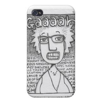Gaaaaah!! Cartoon iPhone case Cover For iPhone 4