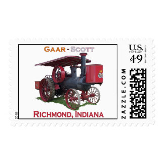 Gaar-Scott - Richmond, Indiana Postage