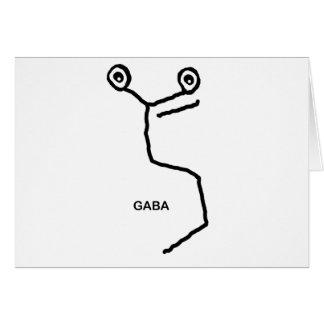 GABA Neurotransmitter Card