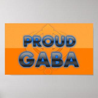 Gaba orgulloso orgullo de Gaba Impresiones