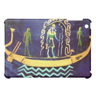 Gabarra egipcia del barco (en aceite)