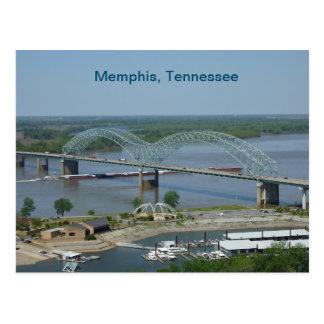 Gabarra en el río Misisipi Postales