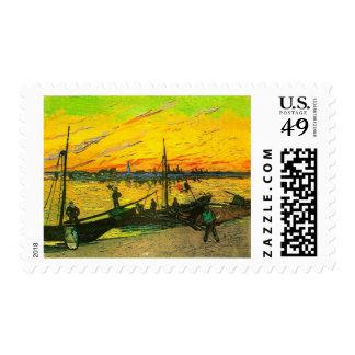 Gabarras del carbón de Van Gogh (F437) Envio