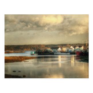 Gabarus Barrachois Cape Breton Island Postcard