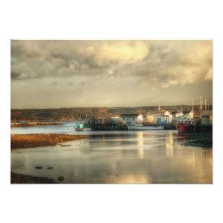 Gabarus Fishing Village in Cape Breton Island Photo Print