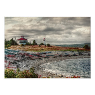 Gabarus Lighthouse Cape Breton Island Photograph