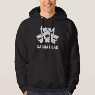 Gabba Head (White) Hoodie