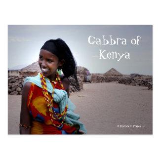 Gabbra of Kenya Postcard