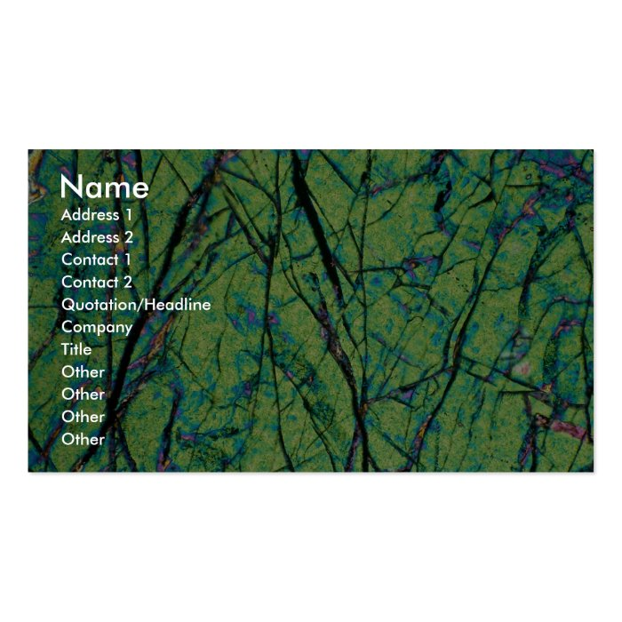 Gabbro Business Card