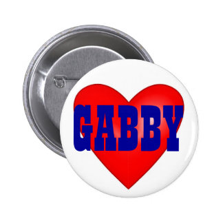 Gabby Giffords 2012 Pinback Button