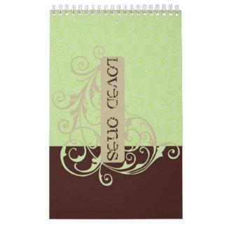 Gabby Guest Book Calendar