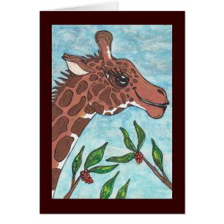 Gabby the Giraffe Card