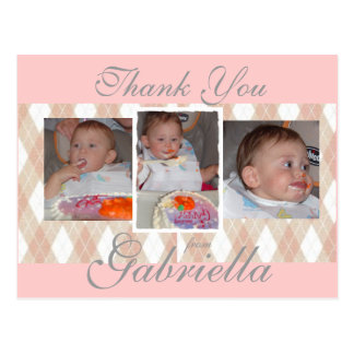 gabbys 1st birthday0081, gabbys 1s... - Customized Postcard