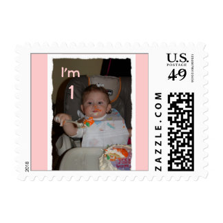 gabbys 1st birthday0104, - Customized Postage