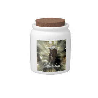 Gabe, A Miracle of Love Candy Jar