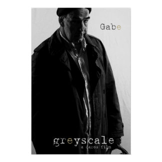 Gabe Character Poster