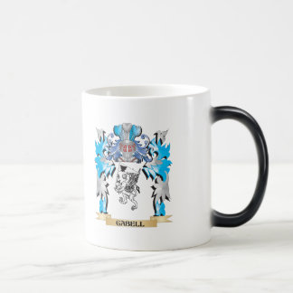 Gabell Coat of Arms - Family Crest 11 Oz Magic Heat Color-Changing Coffee Mug