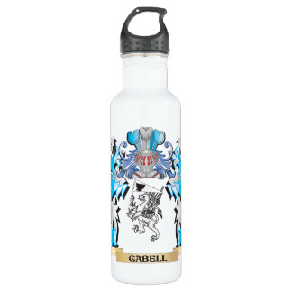 Gabell Coat of Arms - Family Crest 24oz Water Bottle