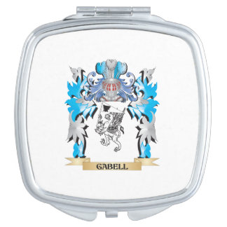 Gabell Coat of Arms - Family Crest Mirrors For Makeup