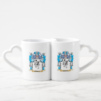 Gabell Coat of Arms - Family Crest Couples' Coffee Mug Set