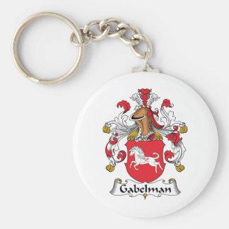 Gabelman Family Crest Key Chains