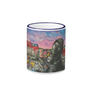 GabeQ graffiti art mug