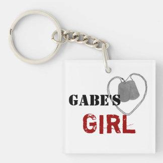 Gabe's Girl Keychain