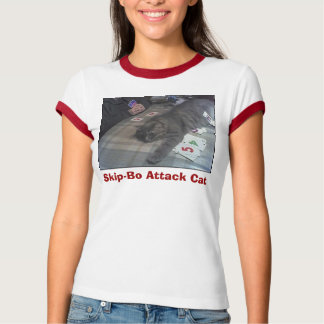 GabeSkipBo, Skip-Bo Attack Cat T-Shirt
